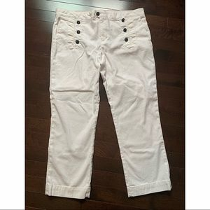 Tommy Hilfiger white sailor jeans